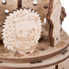 Christmas Dance - 3D wooden mechanical model kit by WoodTrick.