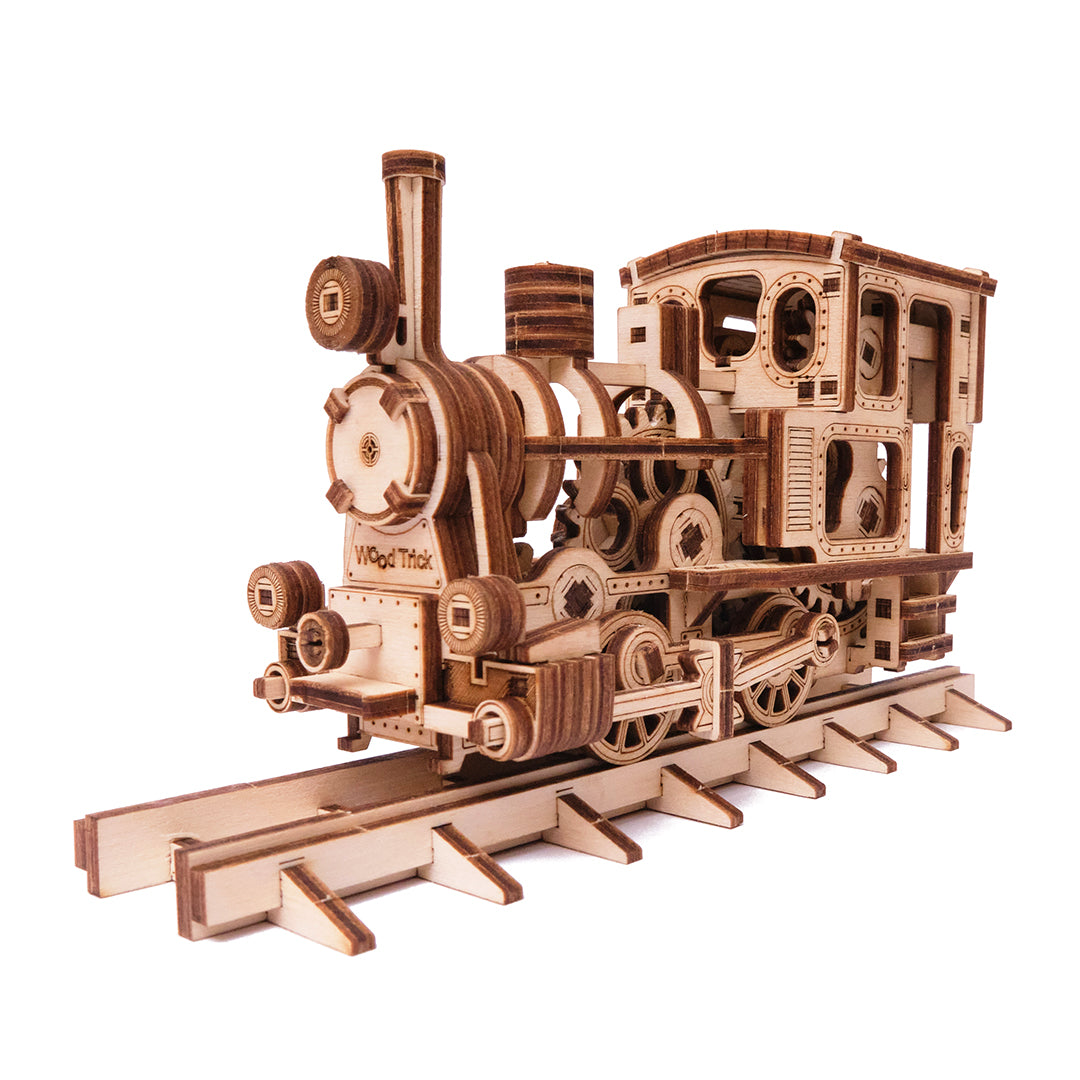 Chug - Chug Train---3D-wooden-mechanical-model-kit-by-WoodTrick.-WoodTrick-wooden-model-kit1