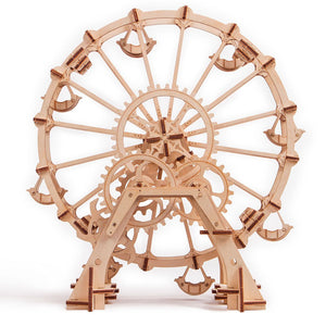 Ferris Wheel - 3D wooden mechanical model kit by WoodTrick.
