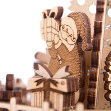 Gifts from Santa - 3D wooden mechanical model kit by WoodTrick.