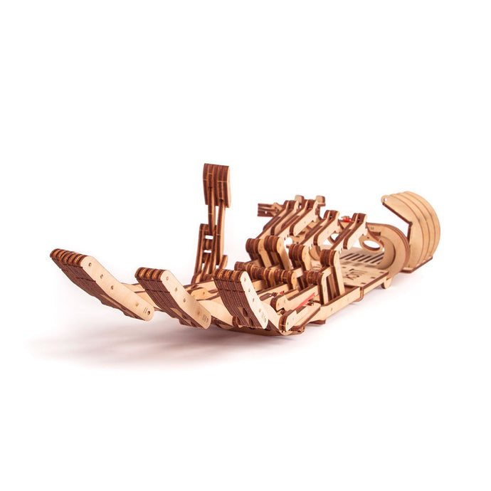 hand 3D wooden mechanical model kit by WoodTrick.