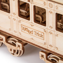 Locomotive R17 - 3D wooden mechanical model kit by WoodTrick.