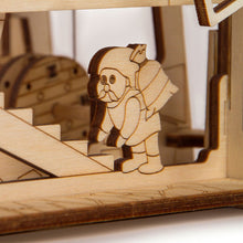 Mechanical Mill - 3D wooden mechanical model kit by WoodTrick.