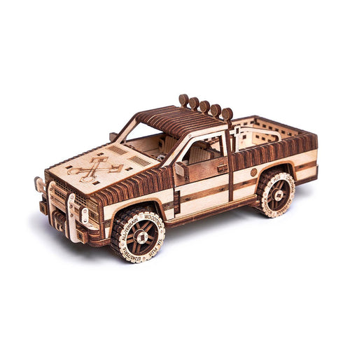 Pick Up WT1500 3D wooden mechanical model kit by WoodTrick.