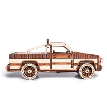 Pick-up WT-1500 - 3D wooden mechanical model kit by WoodTrick.