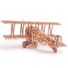 Plane - 3D wooden mechanical model kit by WoodTrick.