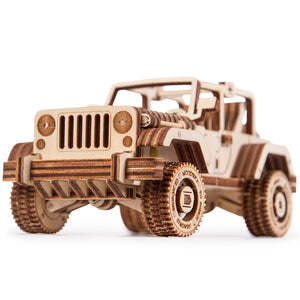 Set of Cars - 3D wooden mechanical model kit by WoodTrick.