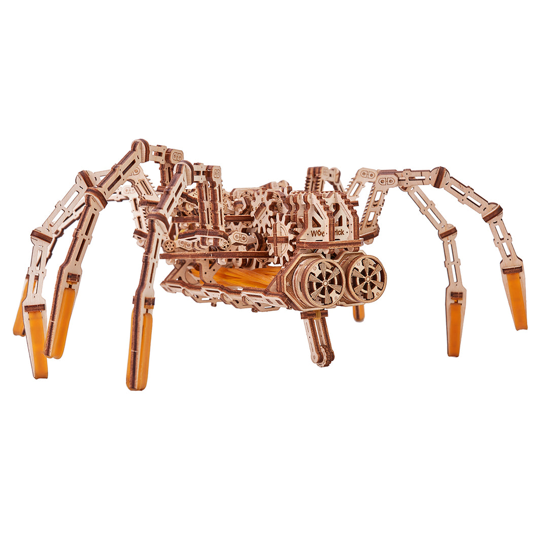 Space Spider - 3D-wooden-mechanical-model-kit-by-WoodTrick.-WoodTrick-wooden-model-kit