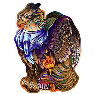 Thunder-Griffin---wooden-colorful-puzzle-by-WoodTrick1