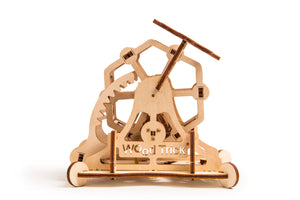 Wheel of Fortune - woodworking kits for children and adults. High quality.  Wood trick