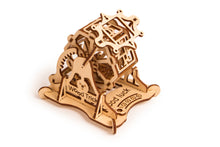 Wheel of Fortune - Wooden 3D mechanical model. No glue or cutting required Construction set