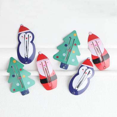 Merry Christmas Hair Clips