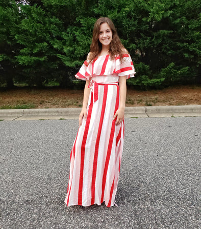 Summer Cruise Maxi Red