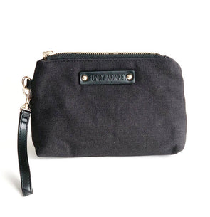 Small Canvas Pouch Black
