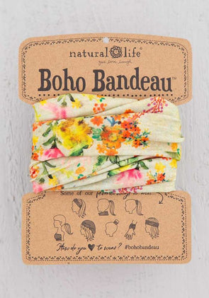 Boho Bandeau Sage Watercolor