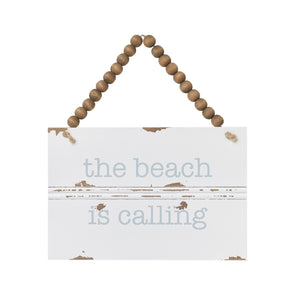 Beach Calling Trim Sign