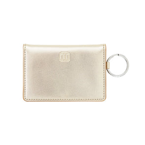 Gold Rush Leather ID Case