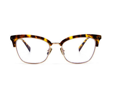 Lucy Blue Light Lens Gold and Amber Tortoise