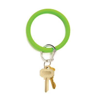 Big O Key Ring In The Grass Silicone
