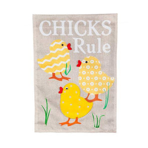 Chicks Rule Flag