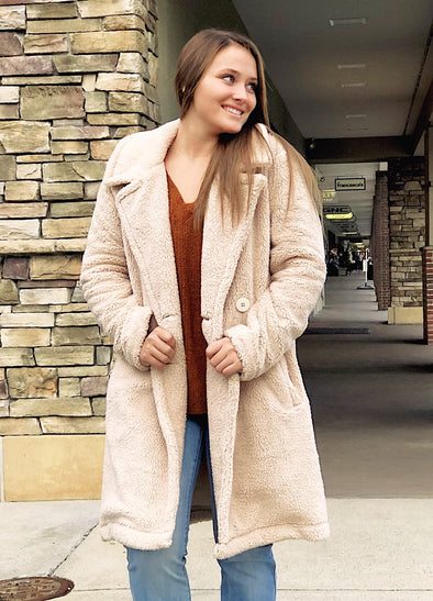 The Cozy Sherpa Coat