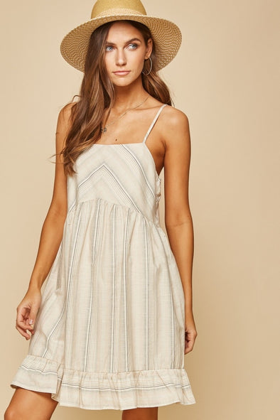 The Angelina Stripe Dress