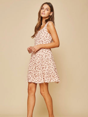 The Elysia Floral Print Dress