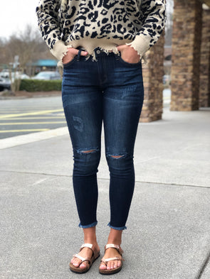 Alex Distressed Skinnies