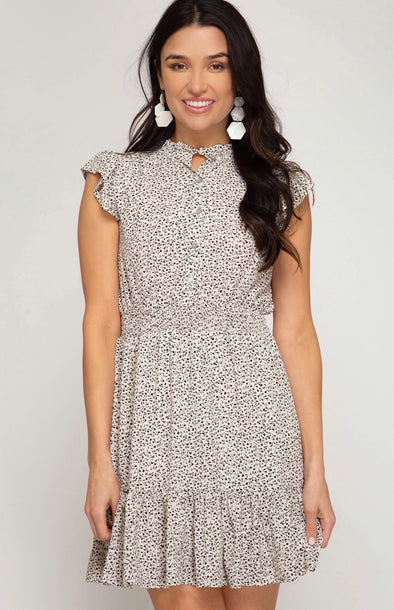 The Giovanna Dress Cream