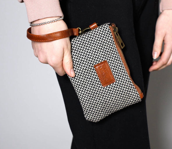 Tweed Wristlet Jayden Small