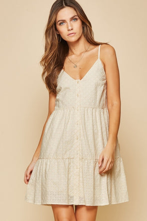 The Elizabella Eyelet Dress