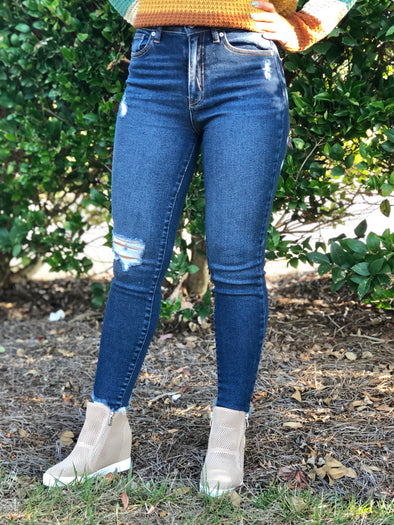 Hanna High Rise Skinny Jeans
