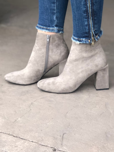 Evolve Booties Taupe