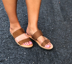 Bring it On Strap Sandals Tan