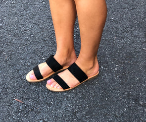 Bring it On Sandals Black