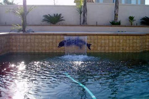 Twin Dolphin Water Feature#3001