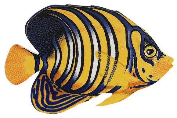 Regal Angelfish Swimming Pool Mosaic Tile | Regal Angelfish Pool Tile