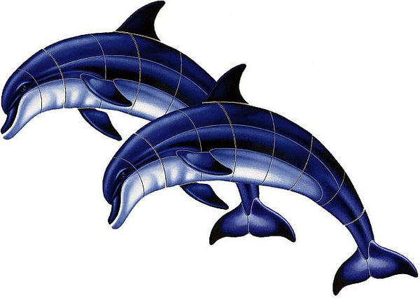 #3160 Double Bottlenose Dolphin - A