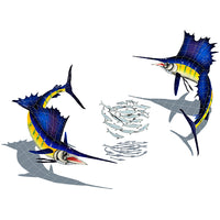 #3044 Sailfish Group Small Shadow