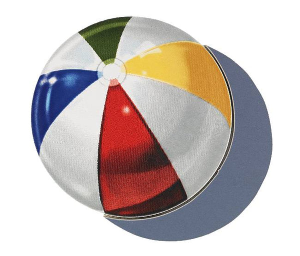 #3381 Beach Ball Small Shadow