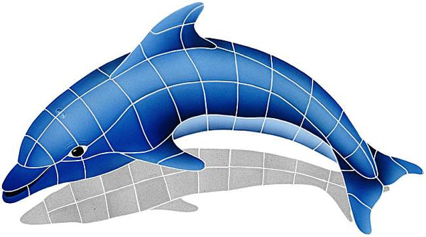 #2023 Dolphin Small Left Blue Shadow