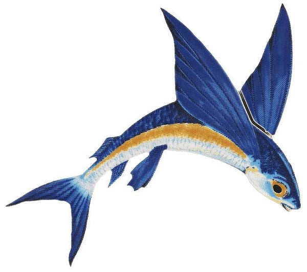 Flying Fish Right - Two Sizes and Shadow