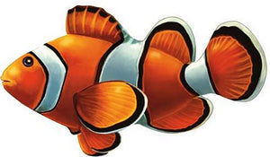 Clown Fish Swimming Pool Mosaic Tile | Clown Fish Pool Tile