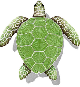 #1091 Loggerhead Small Green Shadow