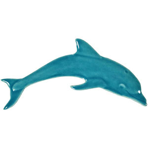 Micro Dolphin Swimming Pool Mosaic Tile | Aqua Micro Dolphin Pool Tile