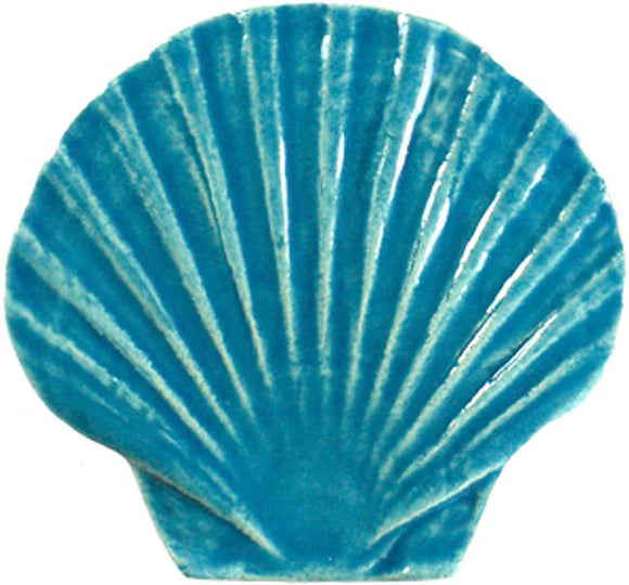Seashell Swimming Pool Mosaic Tile | Aqua Seashell Pool Tile