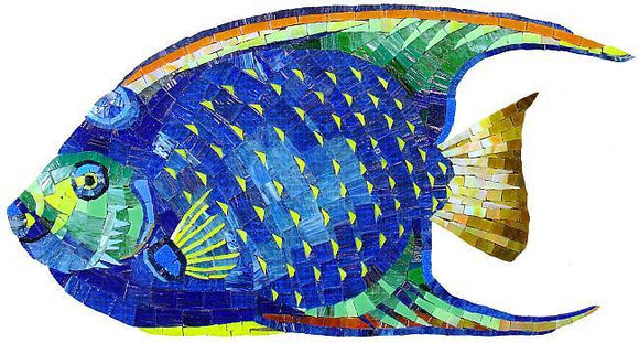 Angelfish Swimming Pool Mosaic Tile | Angelfish Tile