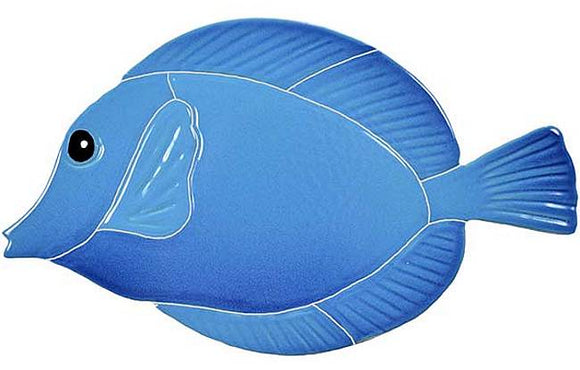 Blue Tang Fish Swimming Pool Tile