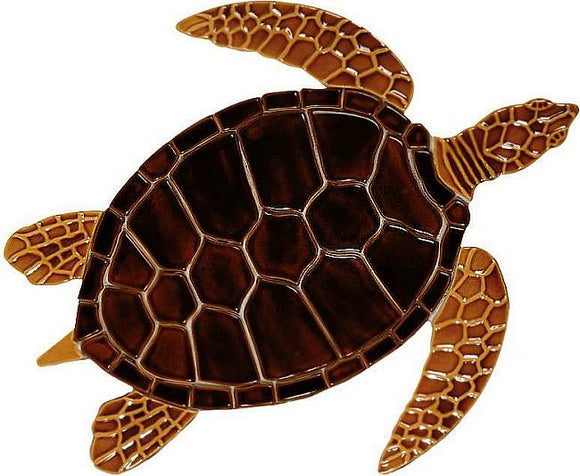 #3091 Sea Turtle Brown Small