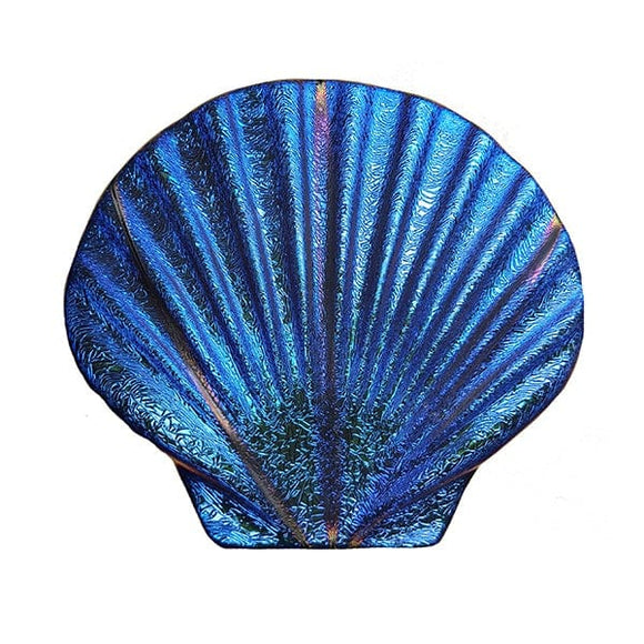 Step Marker Swimming Pool Mosaic Tile | Sapphire Fusion Seashell Tile